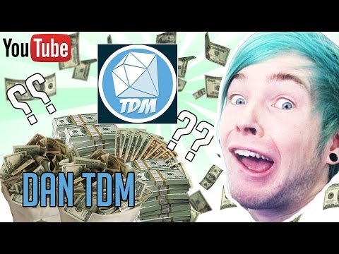 HOW MUCH MONEY DOES DANTDM (The Diamond Minecart) MAKE ON YOUTUBE 2016 YouTube Earnings