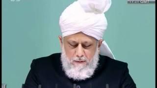 Eid Ul Adha Ansprache vom 7 November 2011 - Islam Ahmadiyya
