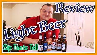 Light Beer Review Sip Taste Tell S1 E2