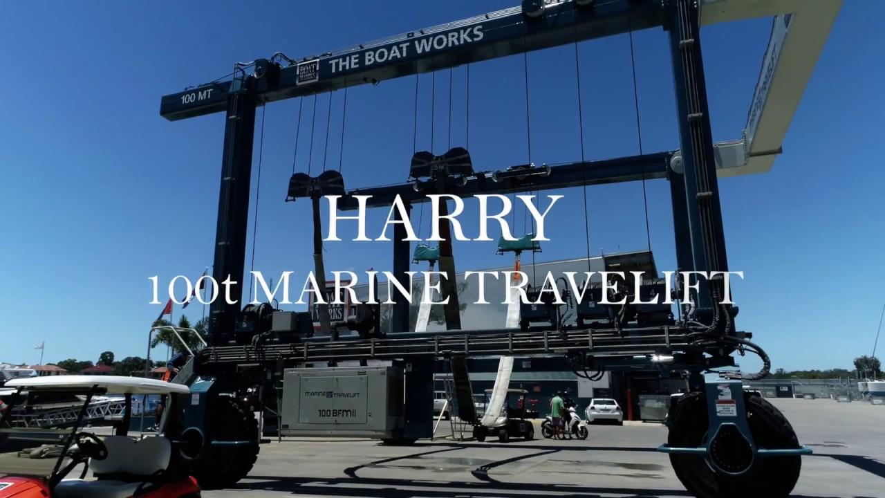 Marine Travel Lift 100 tonne & 70 tonne
