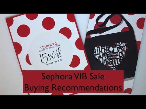 Sephora VIB Sale Buying Guide