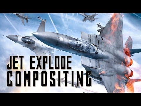 After Effects Compositing Jet Explode Tutorial