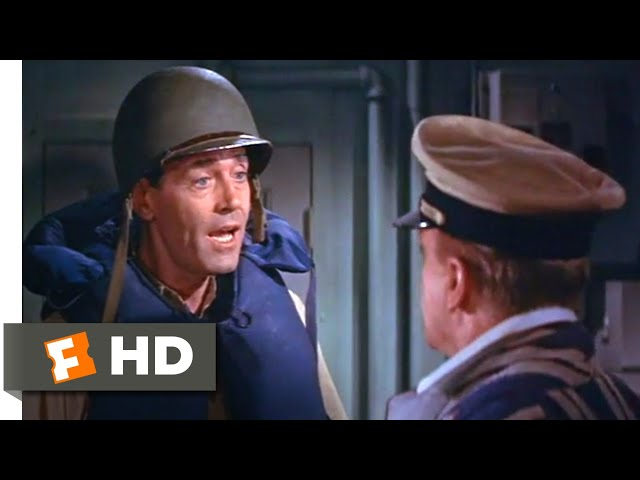 Mister Roberts (1955) - You Stabbed Me in the Back Scene (8/10) | Movieclips