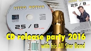 Nico Brina Band - CD release party 2016 (compilation)