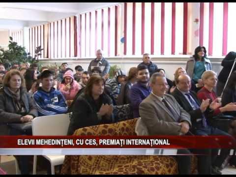 Elevii mehedinteni, cu CES, premiati international