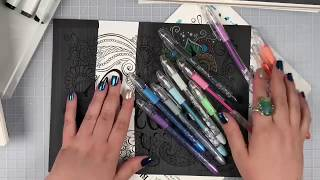 Coloring Tricks with Black Markers