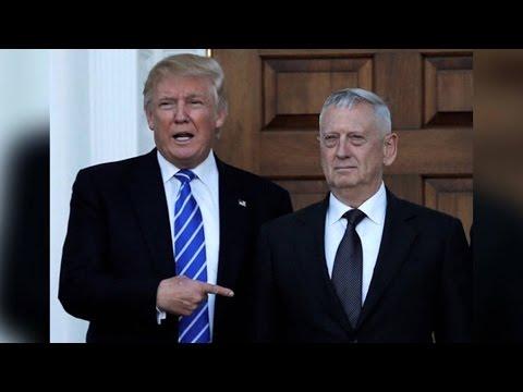Defense Secretary Nominee James Mattis Pledges to Enforce Iran Nuclear Deal Criticized by Trump