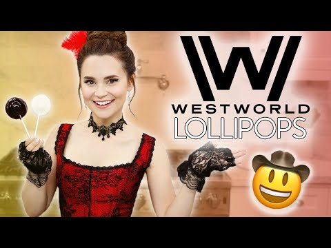 WESTWORLD COWBOY HAT LOLLIPOPS - NERDY NUMMIES