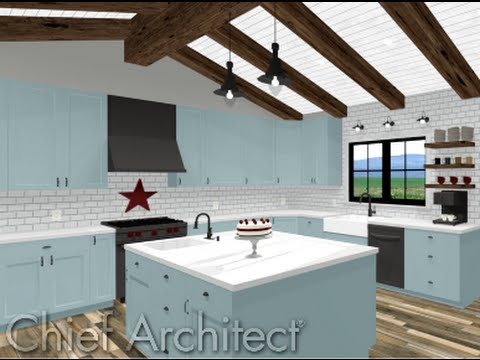 Home Designer 2017 Kitchen Design Youtube