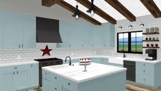 Home Designer 2017 - Kitchen Design