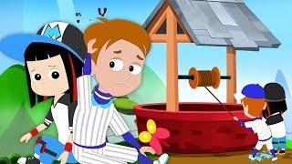 杰克和吉尔上山了| 中国童谣 | 给孩子们的歌 | 幼儿园歌曲 | Jack and Jill went up the Hill | Chinese Poems | Kids Tv China