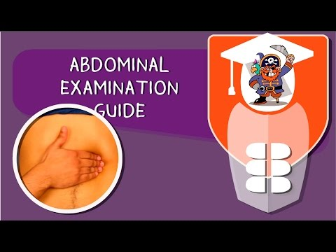 Abdominal Examination OSCE Guide and Explanation