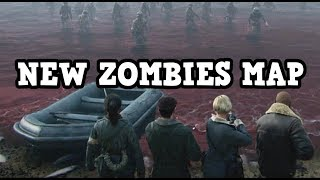 Call Of Duty WW2 - The Darkest Shore NEW ZOMBIES MAP