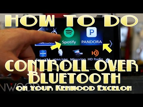 How to do Pandora and Spotify control on your new Kenwood DDX9903s, DDX6903s, DNX893s, and DNX693s Mp3