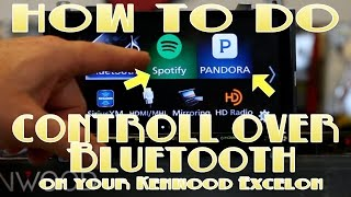 How to do Pandora and Spotify control on your new Kenwood DDX9903s, DDX6903s, DNX893s, and DNX693s