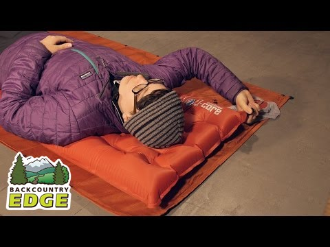 Big Agnes Q Core Insulated Sleeping Pad Youtube