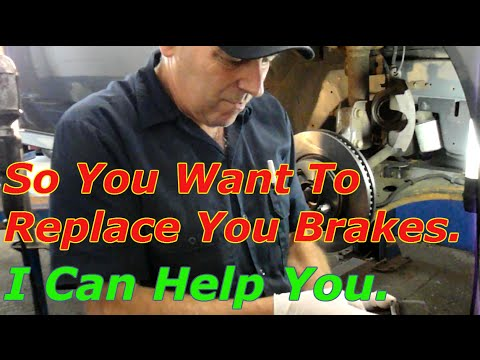 How To Replace The Front Brakes On A 2004 Pontiac Grand Prix
