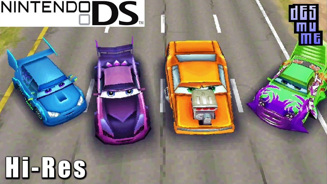 cars nintendo ds gameplay high resolution desmume youtube. Black Bedroom Furniture Sets. Home Design Ideas