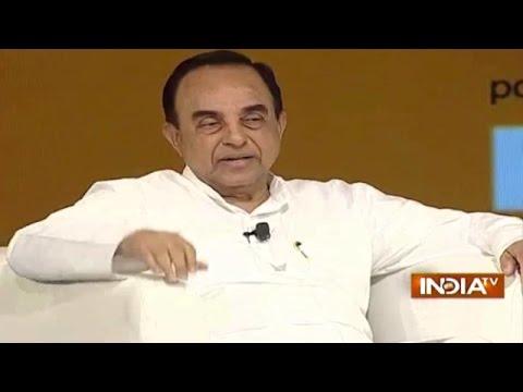 IndiaTV Samvaad: Subramanian Swamy on Dadri Lynching in UP at Mega Conclave