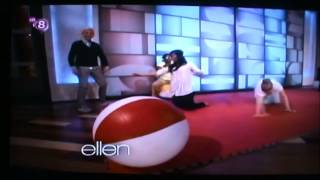 Ellen Degeneres  sixties dance  The  funniest game I