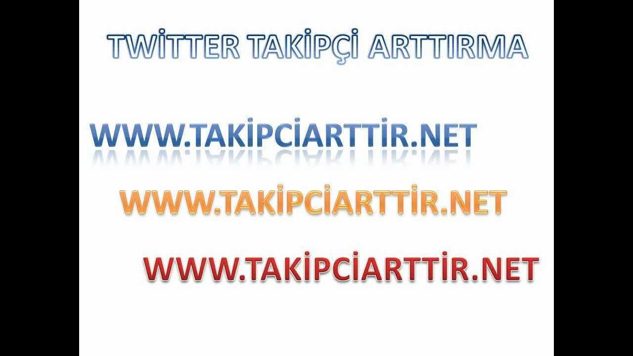 Twitter Takipçi Arttırma 2013
