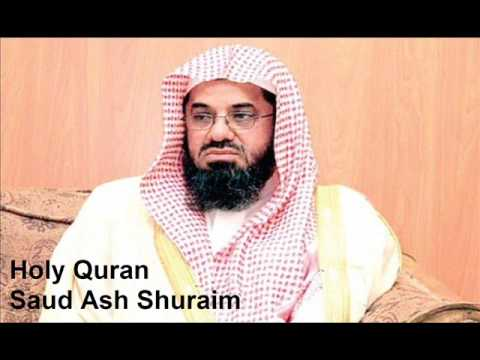The Complete Holy Quran By Sheikh Saud Ash Shuraim 1/2