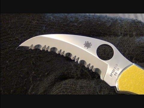 Knife Review: Spyderco Harpy