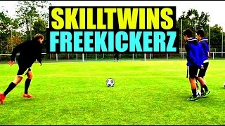 Skilltwins ft. freekickerz - amazing freekicks, tutorials & reviews!