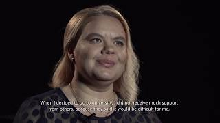 """You can too"" women's rights campaign in Moldova – Aliona Lazarenco's story"
