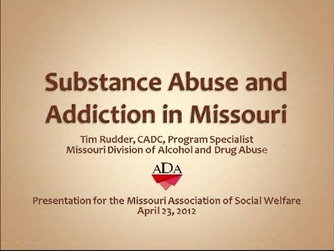 ICA Missouri: Substance Abuse and Homelessness