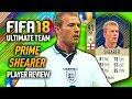 FIFA 18 PRIME SHEARER (91) *ICON* PLAYER REVIEW! FIFA 18 ULTIMATE TEAM!