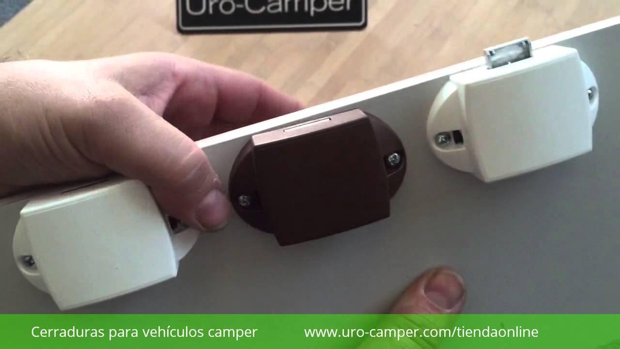 Cerraduras para muebles camper youtube for Muebles camper