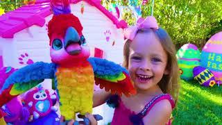 Пасхальные игры - Детская песня. Песни для детей от Майи и Маши