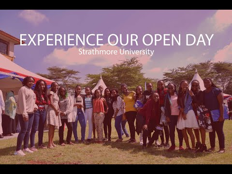 Open Day Experience At Strathmore University