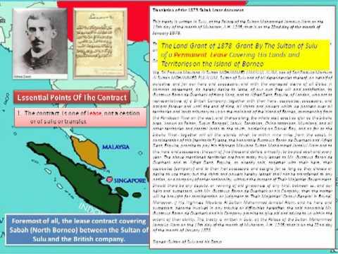 History of Sultanate of Sulu & North Borneo Part 2
