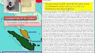 History of Sultanate of Sulu & North Borneo Part 2