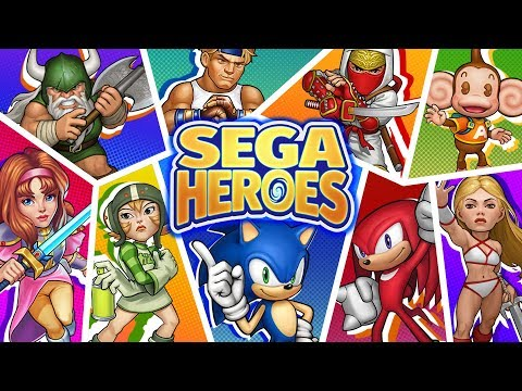 SEGA Heroes: Match 3 RPG Game with Sonic & Crew! - Apps on