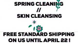 Welcome spring with a new clean skin regimen