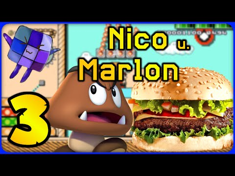 #3 Burger King - Nico & Marlon - Super Mario Maker Online