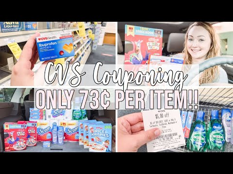 CVS HAUL FOR ONLY 73¢ PER ITEM! 🔥 (7/25-7/31) STOCKING UP ON PAPER PRODUCTS & CEREAL!