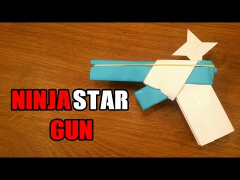 How To Make a Paper Gun That Shoots Ninja...