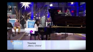 (TV ZDF) Younee 'Merci Cherie' ZDF Morgenmagazin zum Gedenken an Udo Jürgens (22.Dez.2014)