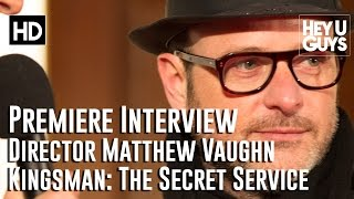 Director Matthew Vaughn Interview - Kingsman: The Secret Service Premiere