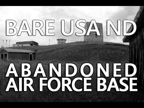 BARE USA ND | Urban Exploration of Fortuna Air Force Station an Abandoned Military Base
