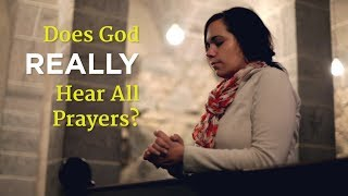 God has an infinite inbox and hears every word you pray to him. Pas...