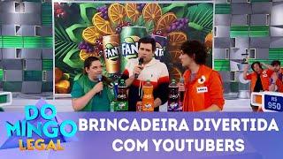 Baixar Brincadeira divertida com Youtubers    Domingo Legal (10/06/18)