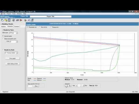 HiTrans V2.2 - Water hammer software (golpe de ariete)