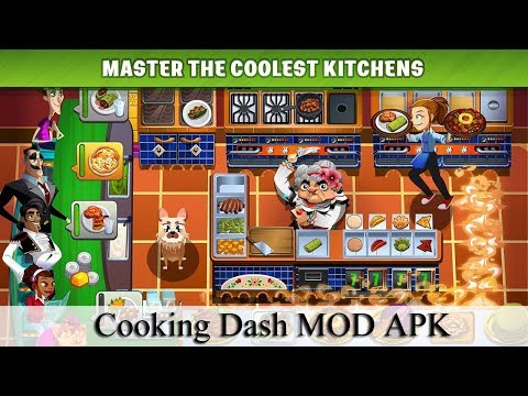 Cooking Dash Mod Apk 2.20.9 NO ROOT 2020 (Unlimited Gold)
