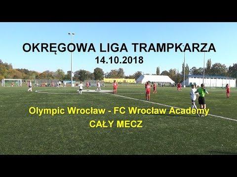 Okręgowa Liga Trampkarza 2018.10.14: Mecz Olympic Wrocław - FC Wrocław Academy (1:3)