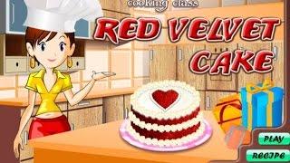 Мультяшная игра для девочек! Детская игра про приготовление блюд! Готовим торт!